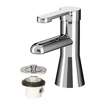 IKEA   RÖRSKÄR Bath Faucet With Strainer, Chrome Plated