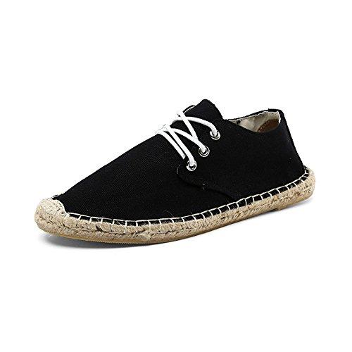 OCHENTA Casuales Las zapatillas de deporte Moda transpirable Negro