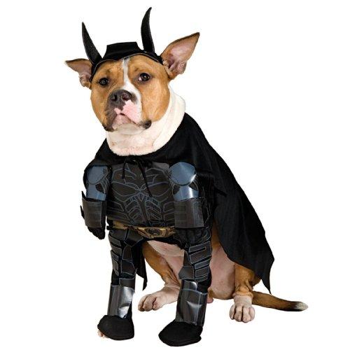 Batman The Dark Knight Rises Pet Costume, Extra (Dark Knight Dog Costumes)