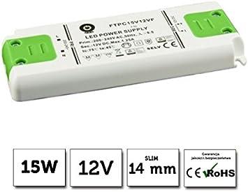 types de protection: Protection contre les courts-circuits SELV variateur antspannung certifi/é T/ÜV ce,.. parasurtenseur /übertemperaturschutz mm seulement POS professionnel Transformateur LED Slim 12/V DC 2,5/A 30/W