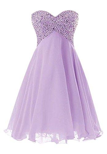 Damen Lavender Drasawee Bandeau Kleid Weiß vqdxR6w