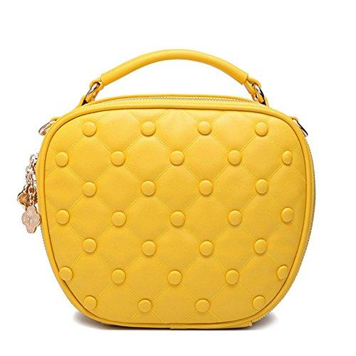 Alot Shoulder Female Handbag Korea Mobile Messenger Packet(yellow£©