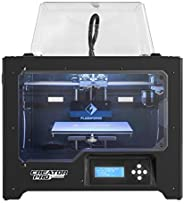 FlashForge 3D Printer Creator Pro, Metal Frame Structure, Acrylic Covers, Optimized Build Platform, Dual Extru