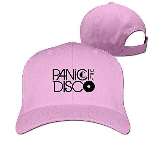 Panic! At The Disco American Pop Band Plain Adjustable Caps Baseball Hat Best Custom Sun Hat (Best Riot Grrrl Bands)