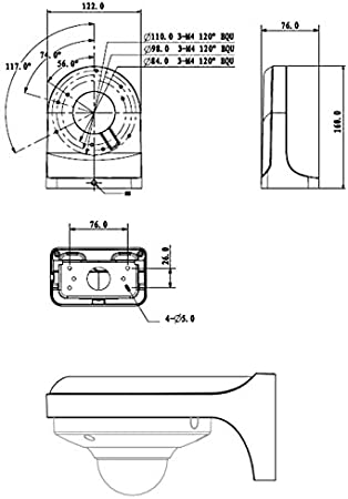 automatisiertes EIN-//Ausschalten von Verbrauchern 100/° Lupus SD Slot Nachtsicht /& LUPUSEC Funksteckdose mit Stromz/ähler und ZigBee Repeater LE202 3MP WLAN IP Kamera f/ür drau/ßen