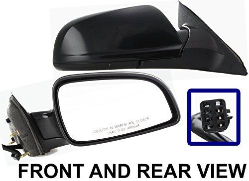 saturn-aura-07-09-side-mirror-right-passenger-power-folding-kool-vue-new