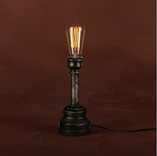 Cheerhuzz New Steampunk Themed Type Light Brass Fire-hose Nozzle Table Lamp Desk Lighting TL68