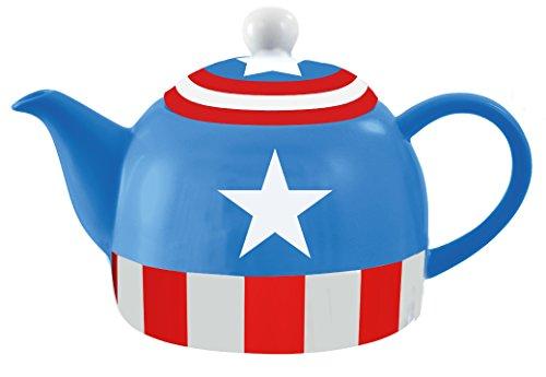 Marvel Avengers Captain America High Quality Ceramic Teapot