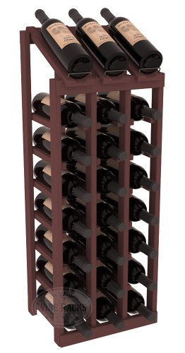 Rows Columns (Wine Racks America Ponderosa Pine 3 Column 8 Row Display Top Kit. 13 Stains to Choose From!)