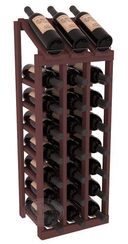 Rows Columns (Wine Racks America Ponderosa Pine 3 Column 8 Row Display Top Kit. 13 Stains to Choose From!)