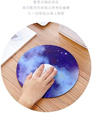 Cute Mouse Pad with Design Non-Slip Rubber Base Mousepad,Waterproof Office Mouse Pad OTCEO Mouse Pad Small Size-Betty Boop Round Mandala Mouse Mat