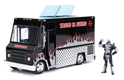 Jada Toys Marvel Deadpool & Taco Truck Die-cast Car, for sale  Delivered anywhere in USA