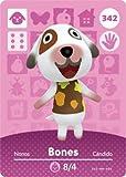 Bones- Nintendo Animal Crossing Happy Home Designer Series 4 Amiibo Card -342