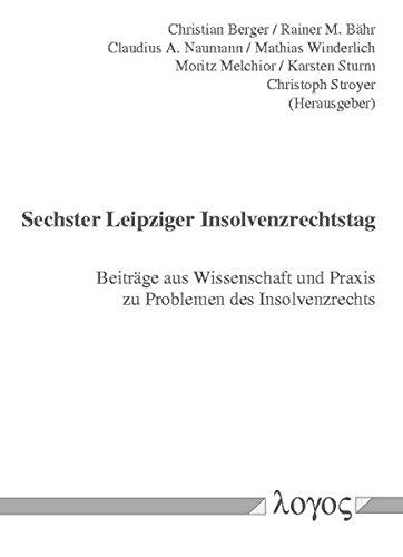 Download 6. Leipziger Insolvenzrechtstag pdf