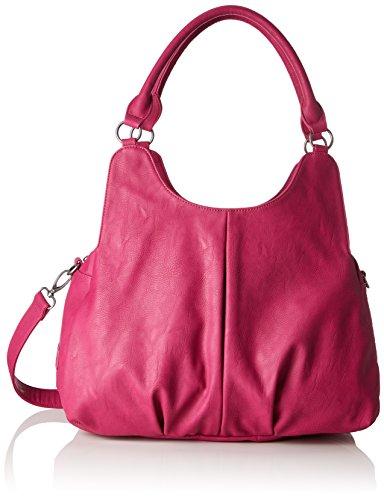 Fritzi aus Preußen Gabriela - Shoppers y bolsos de hombro Mujer Rosa (Pink)