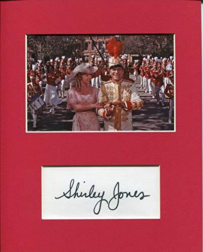 Shirley Jones The Music Man Rare Signed Autograph Photo Display W Robert Preston from HollywoodMemorabilia