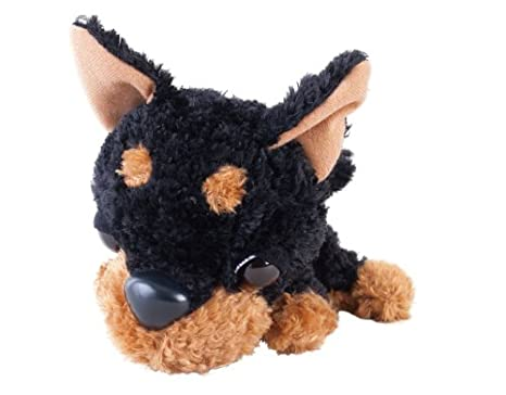 Amazon Com The Dog Stuffed S Chihuahua Black Amp Tan Home Kitchen