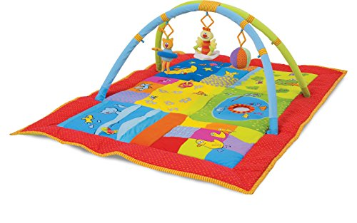 Taf Toys 2 in 1 Smart Supersize Padded Play Gym