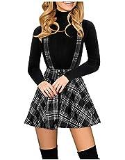 Gothic kleding dames bretels rok steampunk rok korte hoge taille veelzijdige informeel mini rok plooirok gevouwen skater tennis school rok vintage punk kleding