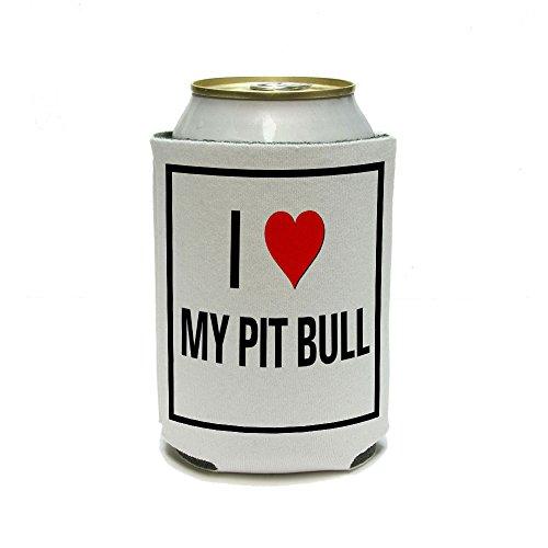 Love Heart Pit Bull Cooler