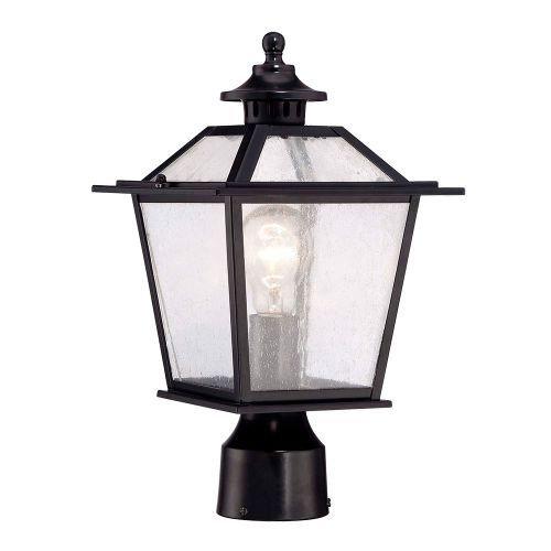Kichler 9707BK One Light Outdoor Wall Mount by Acclaim