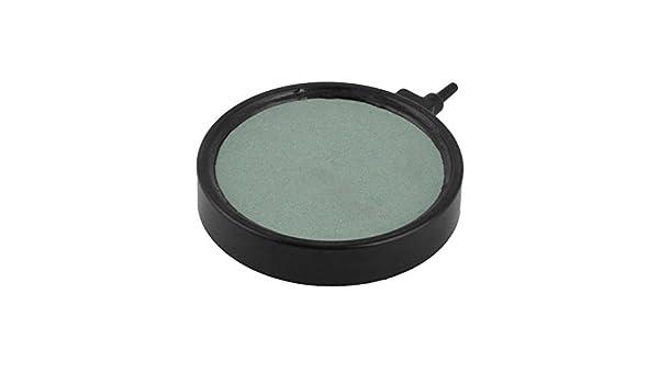 Marco de plástico DealMux Carborundo Fish Tank disco redondo de la burbuja del aire del difusor de piedra turquesa: Amazon.es: Productos para mascotas