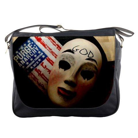 The Purge Anarchy Movie Messenger Bag School Textbook Macbook Ipad Laptop Computer Sling Cross Body Bags