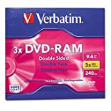 Verbatim 95003 3x DVD-RAM Double-Sided Media