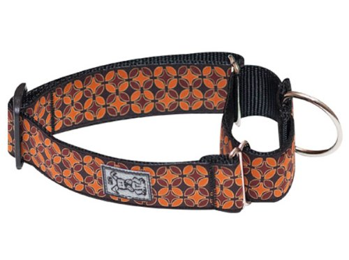RC Pet Products 1-1/2-Inch All Webbing Martingale Dog Collar, Small, In a Nutshell