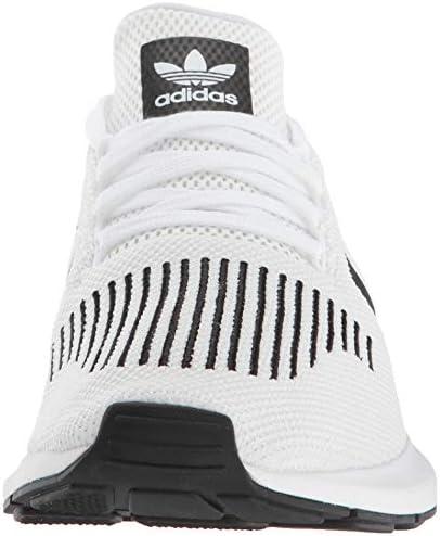 adidas Men's Swift Run Shoes,white/core black/medium grey heather,5 M US