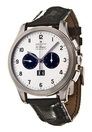 9901c385dc8 Amazon.com  Zenith Class Men s Automatic Watch 03-0520-4010-01-C580 ...