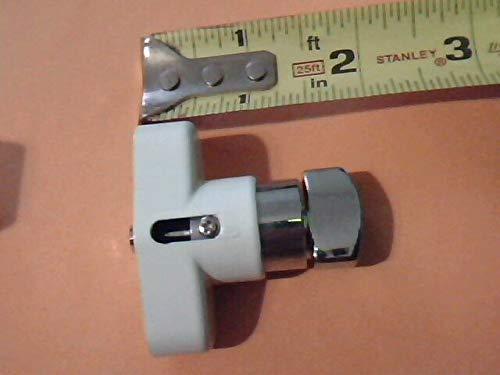 - USA Premium Store HV Thumb Turn Lock Kit, Push Pin, Hurricane Shutter Hardware Part, White
