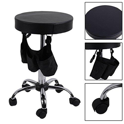 Beauty Salon Rolling Stool Tattoo Massage Facial Spa Adjustable Stool Chair by Graspwind (Image #2)