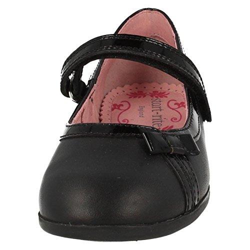Start-rite , Mädchen Mary Jane Halbschuhe Black Leather