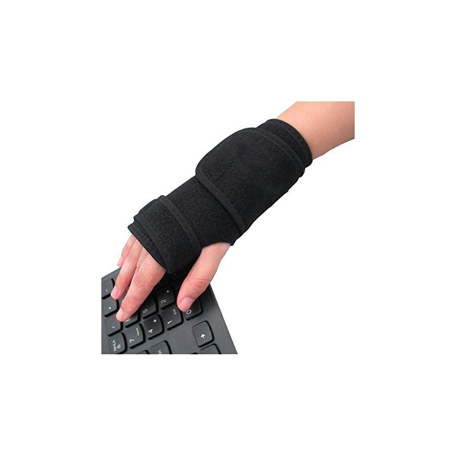 C Pioneer Wrist Support Hand Brace Band Carpal Tunnel Splint Arthritis Sprains Strain