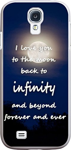 S4 Case Quotes about Love, Samsung Galaxy S4 Case Inspirational Quotes about Life Love From Songs I Love You to The Moon Back to Infinity And Beyond Forever And Ever