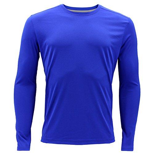 adidas Mens Baselayer Climalite UPF Long-Sleeve Crew Top