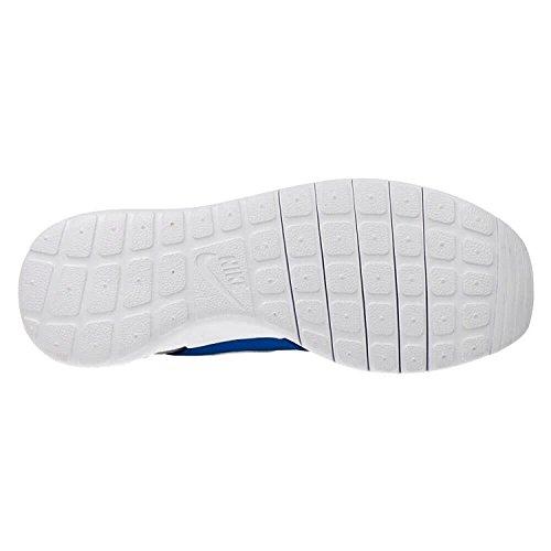 NIKE Kids Roshe One SE (GS) Running Shoe Photo Blue/White/Wolf Grey WBgVUB5