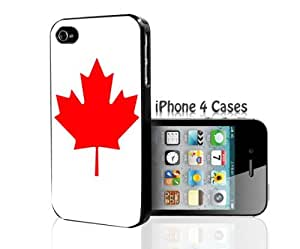 Canada Maple White Leaf iPhone 4/4s case