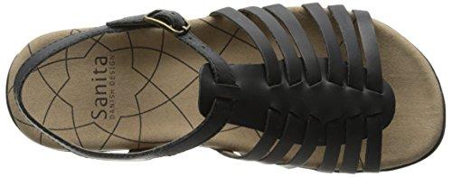 Sanita Kvindernes Kadence Platform Sandal Sort Efm5Oyj3E