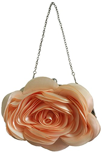 Rose Pattern Womens Color 11 Purse Shoulder Party Bags Clutch Bywen RgwqZ5R