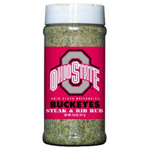 Ohio State Buckeyes NCAA Steak and Rib Rub (14.5 oz)