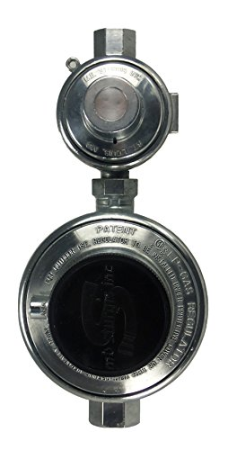 High Capacity Two Stage RV Regulator (Horizontal Orientation)