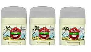 Old Spice Fiji Deodorant AntiPerspirant Travel Size 0.5 oz (Pack of 3)