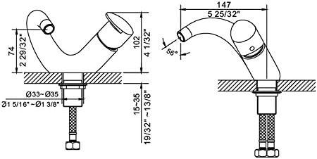 Ubath Single-lever Lavatory Faucet. Cupc Certified.