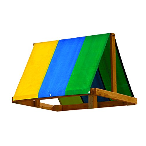 52' x 90' Multi-Color Swing Set Replacement Tarp