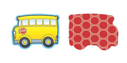 Carson Dellosa School Buses Cut-Outs (120020) Bus Mini Accents
