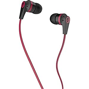 Skullcandy S2IKDZ-010 Ink'd 2.0 Earphones, Red