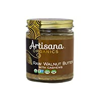 Artisana Organics Raw Walnut Butter with Cashews (1 Pack (8 oz))