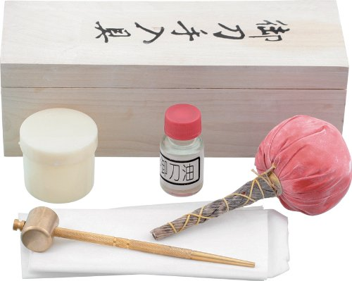 Price comparison product image BladesUSA Jl-600 Sword Cleaning Kit Includes 1 Bottle Of Choji Oil Rice Papers 1 Uchiko